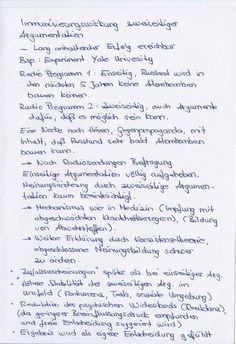 Informative Techniken, Immunisierung (Quelle, Werner Kroeber-Riel, Gundolf Meyer-Hentschel, Werbung, Steuerung des Konsumentenverhaltens, S. 186-189)