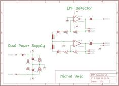 Picture of Schematic and Board