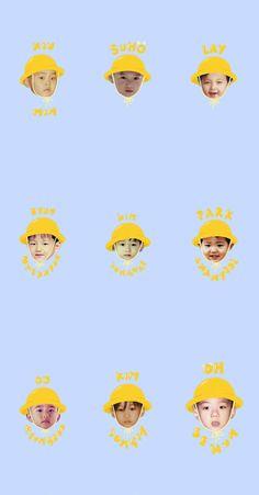 Suho Exo, Exo Kai, Exo Wallpaper Hd, Wallpaper Backgrounds, Exo Group Photo, Exo Cartoon, Exo For Life, Nct, Exo 2014