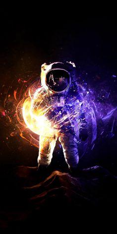 Scifi Astronaut HD Artist Wallpapers Photos and Pictures Galaxy Wallpaper, Hd Wallpaper, Cellphone Wallpaper, Alien Photos, Amoled Wallpapers, Iphone Wallpapers, Night Aesthetic, Fractal Art, Creative Art