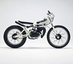 Yamaha DT50MX 'Cocaine White' - Hakan Persson - Silodrome