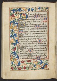 Book of Hours, Use of Carmel, f.66v (157 x 110 mm), ca.1511, Alexander Turnbull Library, MSR-11