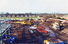 Building the new Melwood