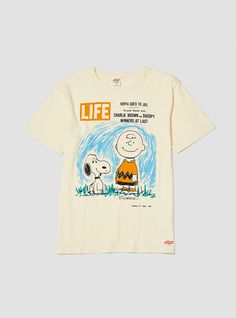 Life x Peanuts T-Shirt Antique White