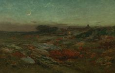 Dwight Tryon, Moonlight in November, ca. 1887, Private Collection, NY