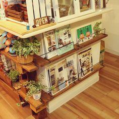 Atomさんの、観葉植物,DIY棚,Come home!,100均,My Shelf,のお部屋写真