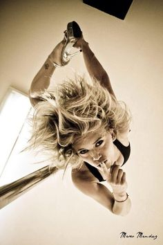 Pole Picture of the Day: Shhhhhh  with FLYING ANGELS, photo by Marco Méndez Fotografía + Diseño