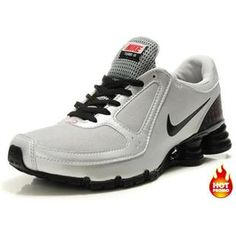 more photos 62580 b19a4 www.asneakers4u.com Mens Nike Shox Turbo 10 White Silver Black Nike Shoes  Outlet