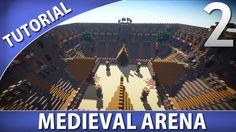Welcome back to the Medieval Minecraft Arena Tutorial! Materials needed in this Minecraft Arena tutorial: Oak wood, spruce wood, oak planks, oak stairs....
