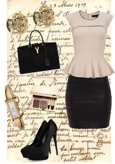 """""""Office wear."""" by chachahh ❤ liked on Polyvore"""