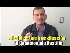 Alcalde de Tepalcatepec exige una investigación al Comisionado Castillo .DIFUNDE  OYE  VERDADES.... PURA  VERDAD.................