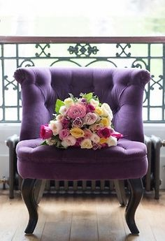 That would make a great accent chair. Love tufted furniture.