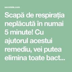 Scapă de respirația neplăcută în numai 5 minute! Cu ajutorul acestui remediu, vei putea elimina toate bacteriile din cavitatea bucală! - Secretele.com Seafood Appetizers, Natural Living, Metabolism, Body Care, Natural Remedies, Health Fitness, Healthy, Avocado, Cherry