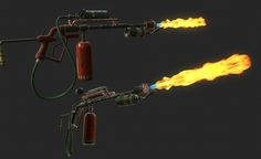 Probably subject to change! Anime Weapons, Weapons Guns, Apocalypse Character, Video Game Decor, Homemade Weapons, Weapon Concept Art, Post Apocalypse, Cool Guns, Dieselpunk