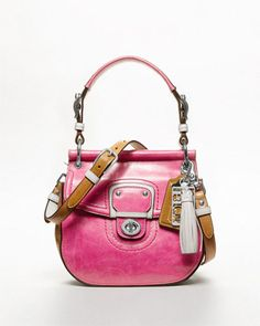 Coach 'Willis' Leather Small Bag