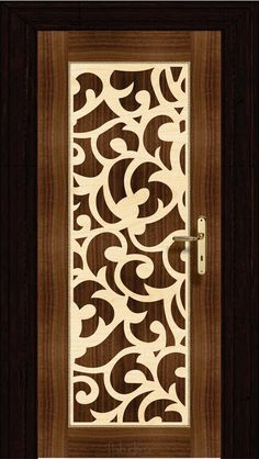 The Latest 35 Economical Interior Wooden Doors - Dwell Of Decor Modern Wooden Doors, Wooden Door Design, Main Door Design, Front Door Design, Modern Door, Gate Design, Wood Doors, House Design, Wood Windows