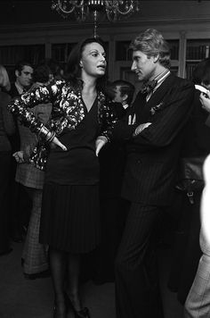 Then and Now: YSL + Halston at FIT | World of DVF