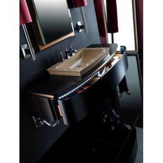 Contemporary Italian Luxury Vanities by Karol at Exclusive Home Interiors Luxury Bathroom Vanities, Bathroom Sets, Contemporary Bathrooms, Modern Bathroom, Italian Bathroom, Modern Vanity, Bathroom Collections, Bathroom Furniture, Sink