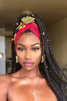 2019 Haircut trends: Give that old-fashioned v cut hair a rest and try these modern and trendy hairstyles. 2019 Haircut trends: Give that old-fashioned v cut hair a rest and try these modern and trendy hairstyles. Blonde Box Braids, Black Girl Braids, Girls Braids, Braids For Black Women Box, Black Box Braids, Small Box Braids, Blonde Hair, Scarf Hairstyles, Trendy Hairstyles