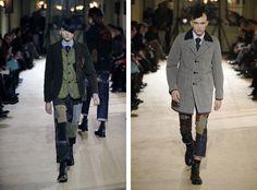 The Junya Watanabe Fall 2014 Collection Resembles Slash #coats #mensfashion trendhunter.com