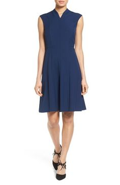 Ellen Tracy Fit & Flare Dress available at #Nordstrom