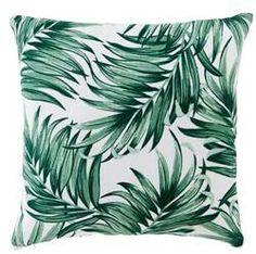 personnalis/é de forme carr/é en coton et lin 45,7/x 45,7/cm chambre /à coucher Housses de coussin /à motif de feuille verte pour canap/é lit d/écoration de la maison salon