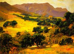 The Athenaeum - California Oaks (Franz Bischoff - 1914 )