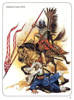 Polish Hussar 1672 - 1683 by Angus Mcbride