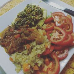 Almoço pronto!!! Nham nham  #almoçolight #integral #instapoa #instacook #pornfood