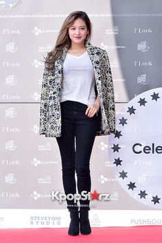 Rainbow's Jaekyung at First Look Pop-Up Store Launching Event - Dec 2014 Yoon Seo, Girl Bands, Pop Up, My Girl, Angels, Product Launch, Rainbow, Kpop, Studio