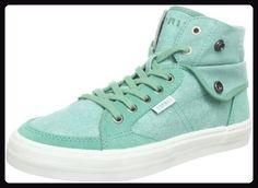 ESPRIT Star Lu Bootie R13111, Damen Sneaker, Grün (sage green 347), EU 38 - Sneakers für frauen (*Partner-Link)