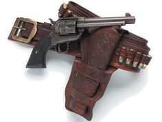 US Colt SAA Peacemaker with holster Guns of the Old West