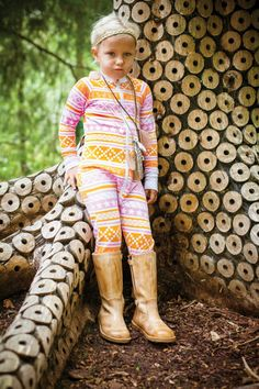 Bamboo zipper dress in magazine Barn