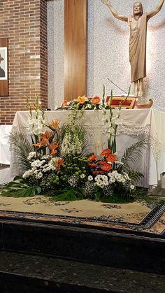 Decoración de altar.