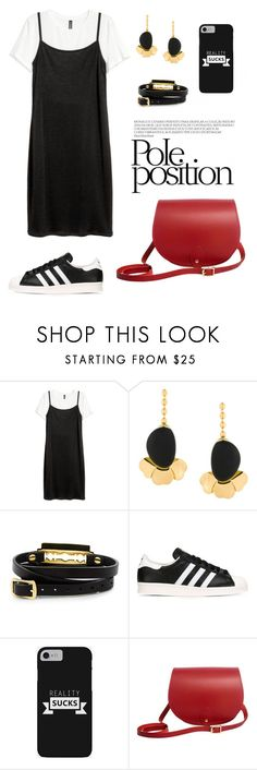 """""""Pole!"""" by gatocat ❤ liked on Polyvore featuring Marni, McQ by Alexander McQueen, adidas Originals and N'Damus"""