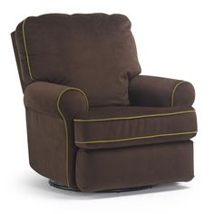 Recliners   TRYP   Best Chairs - Storytime Series  Available in lots of colors and fabrics including tan and gray.