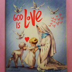 God is Love 1 Jn. 4:8  #catholic, #peace, #eucharist, #mary, #baptism, #silence, #resurrection, #truth, #jesus, #jesuschrist, #holyspirit, #prayer, #mass, #saints, #pope, #communion, #virginmary, #avemaria, #hailmary, #christian, #church, #savior, #God, #love, #beauty, #faith, #trust, #humility