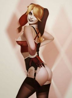 Harley Quinn Classic Beauty Pin Up