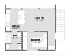Modern One Bedroom Shipping Container Home