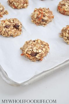 Carrot Cake Breakfast Cookies Recipe on Yummly