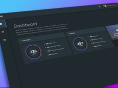 Dashboard UI Design designed by Ildiko Gaspar. Connect with them on Dribbble; Design Ios, Flat Design Icons, Desktop Design, Icon Design, Web Dashboard, Dashboard Design, Ui Design Inspiration, Application Design, Site Internet
