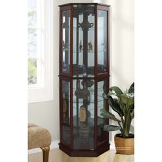 Shop Wayfair for all the best Corner Curio Display Cabinets. Enjoy Free Shipping on most stuff, even big stuff.