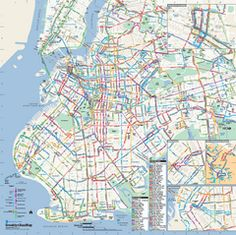 Manhattan bus map january 2017 manbuspdf nyc pinterest manhattan bus map january 2017 manbuspdf nyc pinterest bus map sciox Images
