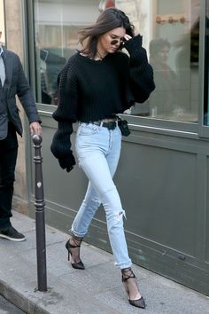 This Is What Your Favourite It-Girls Are Wearing in Paris Right Now via @WhoWhatWearAU