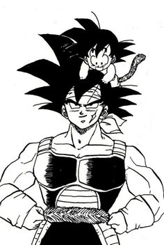 Bardock and Goku