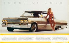 "Lowrider Magazine 35 Years Of Lowrider.  This was the car in the movie "" boys in the hood""."