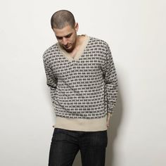 autumn in DaWanda Jacquard men pull over sweater from Andy Ve Eirn by DaWanda.com