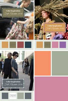 Color Inspiration Fall Winter 2016