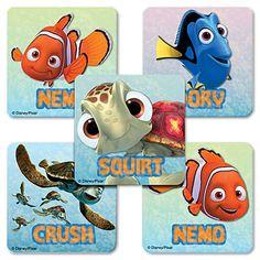 Finding Nemo Value Stickers (5)