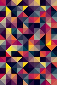 Download Kaleidoscopic 4 iPhone Wallpaper